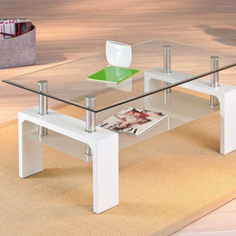 Table basse Alva - blanc