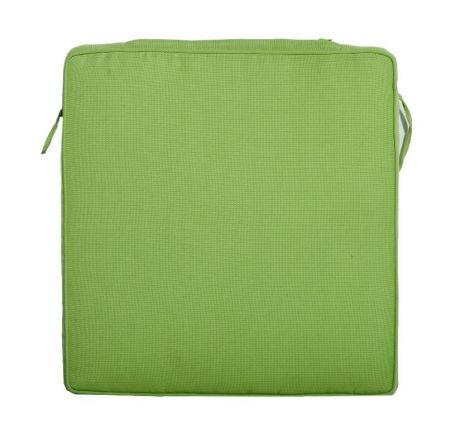 Coussin chaise de jardin empilable - vert