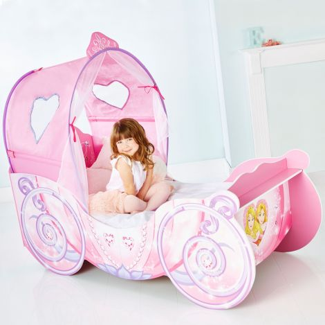 Lit carrosse Princesses Disney