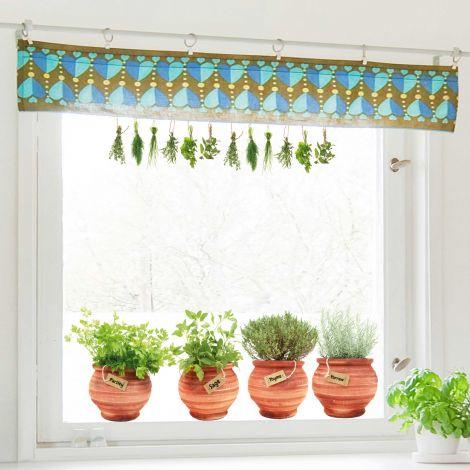 Stickers pour fenêtre Pots