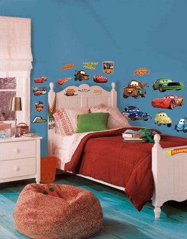 RoomMates stickers muraux - Cars Piston Cup