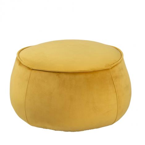 Pouf Mirza Ø60 - jaune
