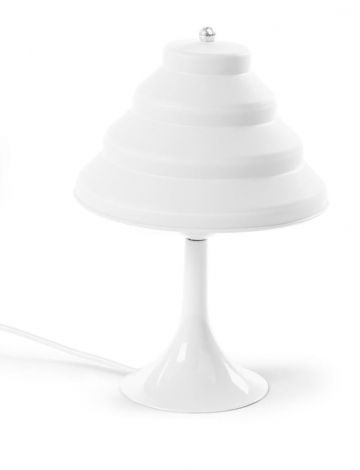 Lampe de table en silicone - blanc