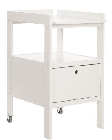 Table à langer Cindy - blanc