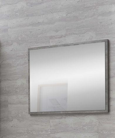 Miroir de salle de bains Rutger - béton