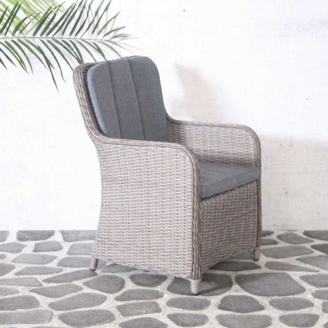 Chaise de jardin Connor - brun