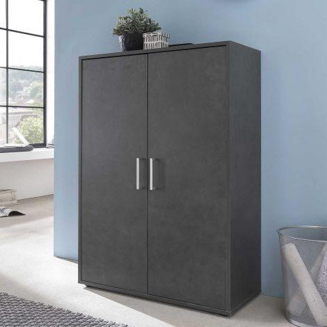 Armoire Maxi-office 2 portes - graphite