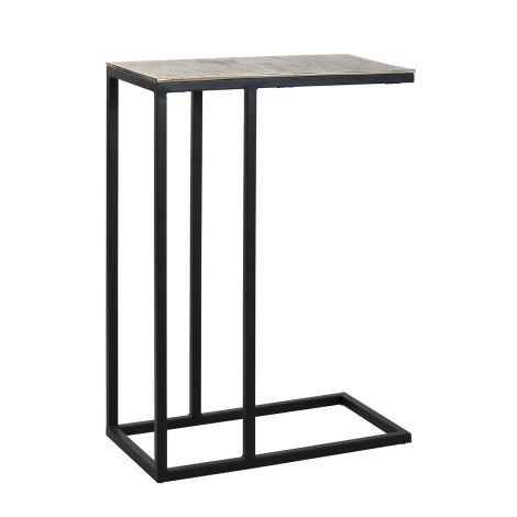 Table d'appoint Cadis 54x29cm - or champagne
