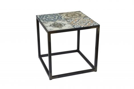 Table d'appoint Ibiza 40x40cm
