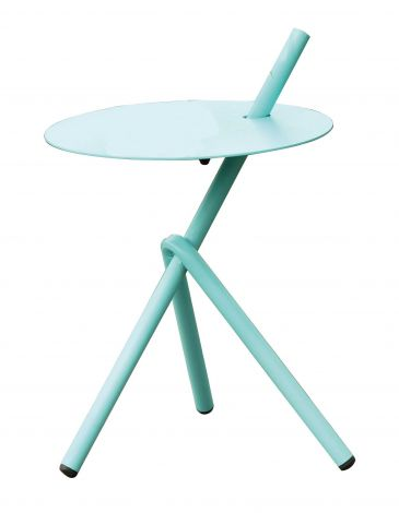 Table d'appoint Stella Ø38cm - bleu