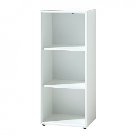 Bibliothèque basse Mouna 50cm - blanc
