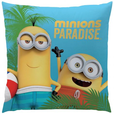 Coussin Minions Paradise 40x40