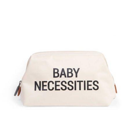 Trousse de toilette Baby Necessities - écru/noir