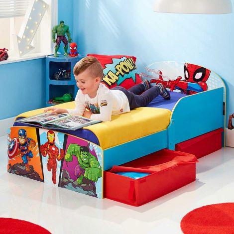 Lit junior Marvel Super-héros avec tiroirs