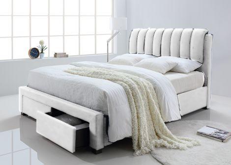 Lit Bedoni 140x200 - blanc