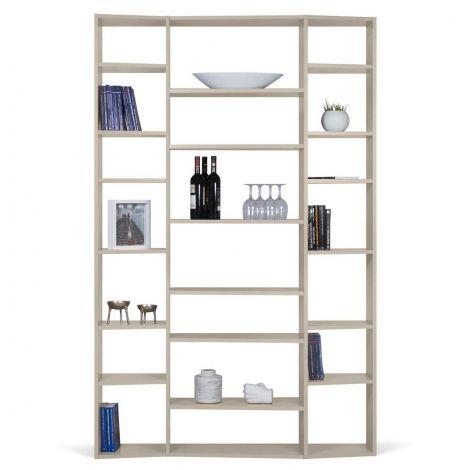 Bibliothèque Varna modèle 2 - gris