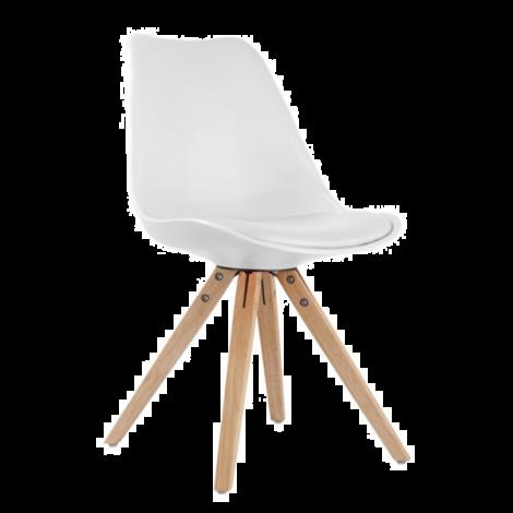 Lot de 2 chaises Lady - blanc