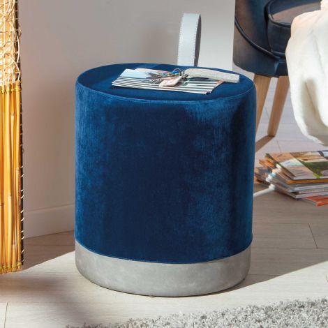 Pouf Osane - bleu