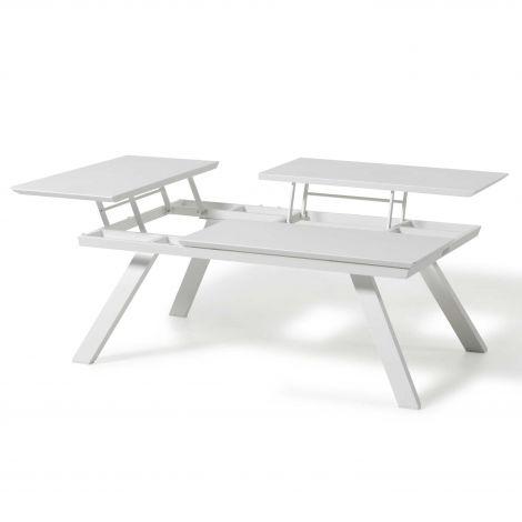 Table basse Cavalli - blanc