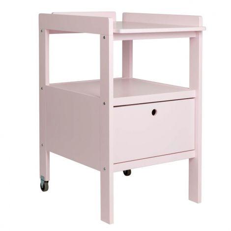 Table à langer Cindy - rose