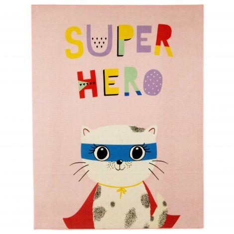 Tapis enfant Superhero Cat