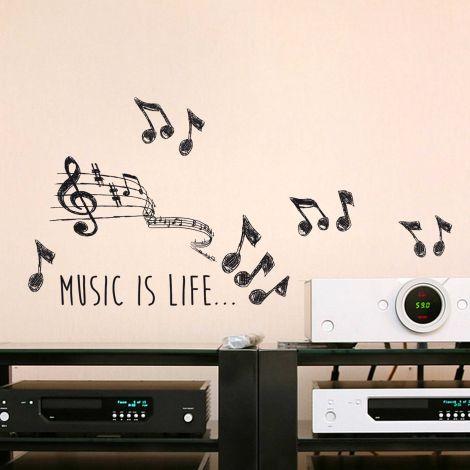 Sticker mural Music