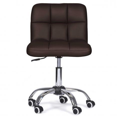 Chaise de bureau Rosalie - brun foncé