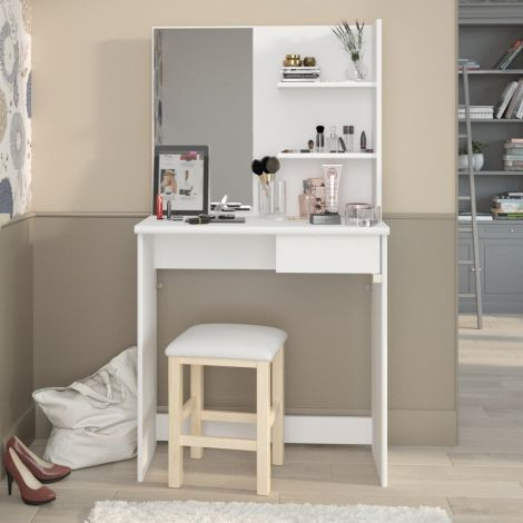 Coiffeuse Coquette - blanc