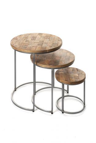 Table gigogne 'Levi' set de 3