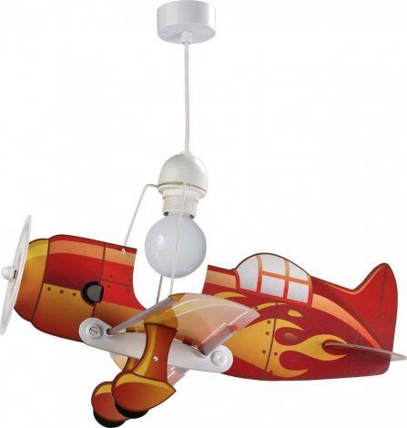 Suspension avion - rouge