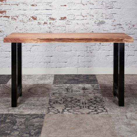 Table de bar Penelope 150x50 industriel - acacia