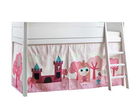Tente de lit Petite Princesse pour lit mi-hauteur