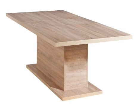 Table extensible Absoluto - chêne sonoma