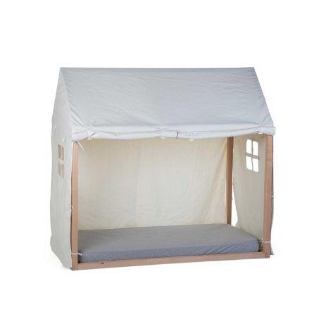 Toile pour cadre de lit Maison 70x140 - blanc