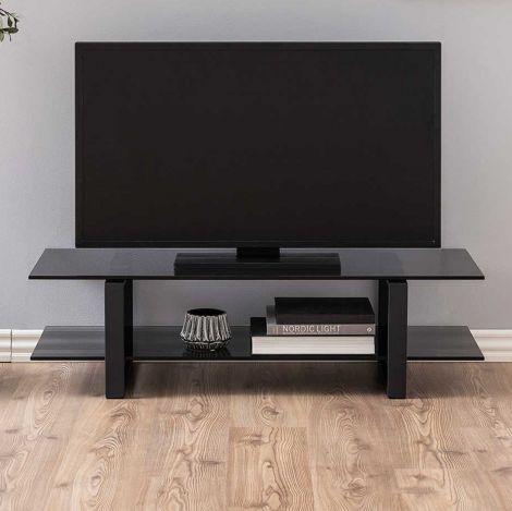 Meuble TV Nicola 120cm - noir