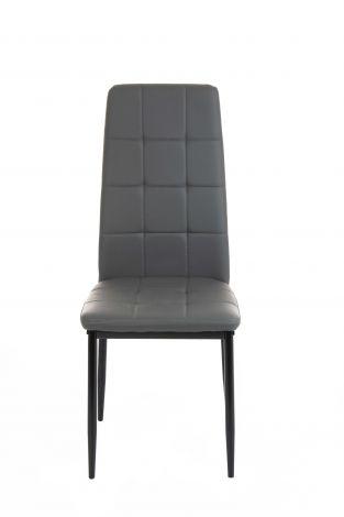 Lot de 4 chaises George - noir