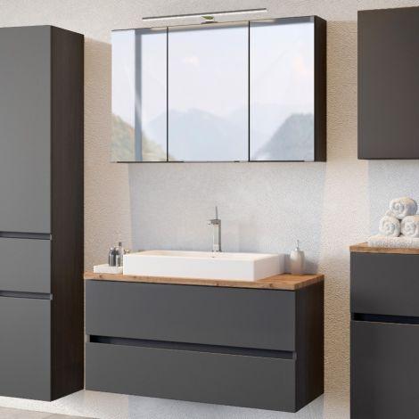 Ensemble salle de bains Pisca 2 - graphite
