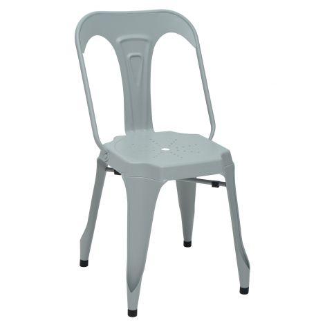 Lot de 2 chaises Industry - gris