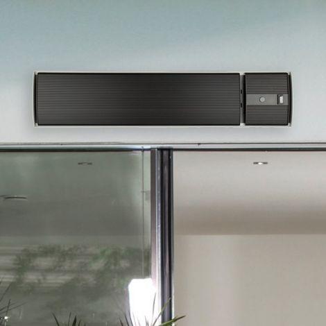 Chauffage de terrasse électrique Hermes - noir