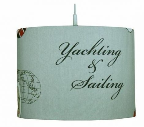 Suspension enfant Sailing marine rouge