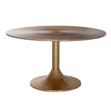 Table basse Dexterio ø77cm - or