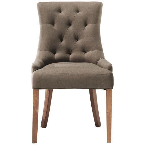 Lot de 2 chaises Fancy - taupe