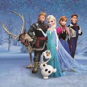 Tableau La Reine des Neiges Disney