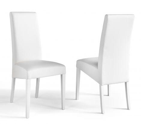 Set de 2 chaises Roko - blanc