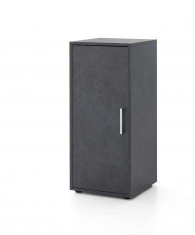 Armoire Maxi-office 1 porte - graphite