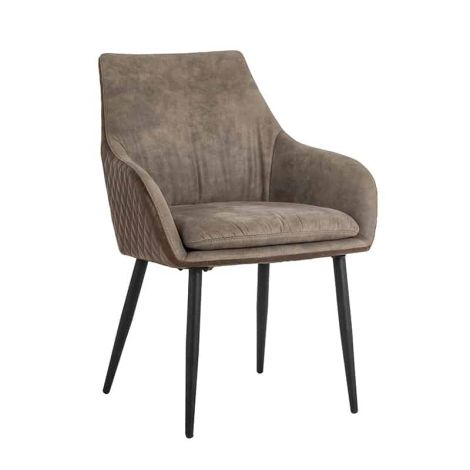 Chaise de salle à manger Bentho - brun