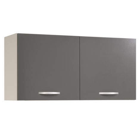 Meuble haut Oke 120 cm - gris