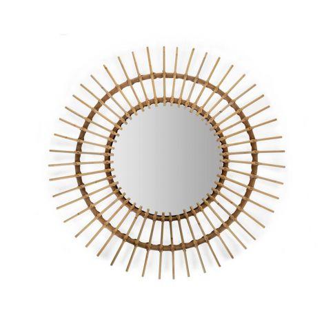 Miroir en Rotin Aura 90cm