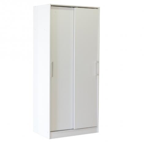 Armoire Foss 80cm à 2 portes - blanc