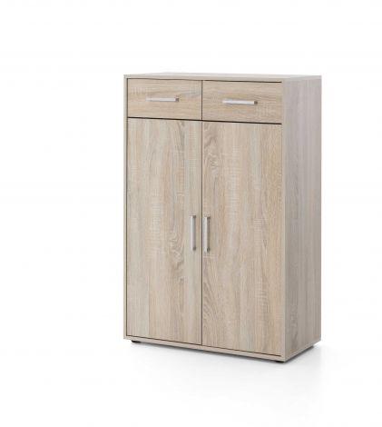 Armoire Maxi-office 2 portes & 2 tiroirs - chêne sonoma